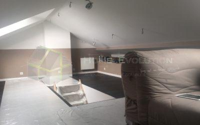 Décaissement de plafond au Mesnil-St-Denis (78)