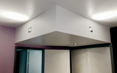 Décaissement de plafond