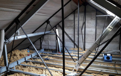 Aménagement de combles sur maison à charpente métallique