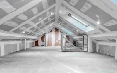 Isolation sous toiture