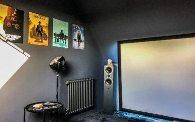 Création d'une salle de home cinéma à Chatou (78)